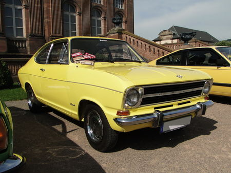 OPEL Kadett B Coupe 1965 1973 Rohan Locomotion de Saverne 2010 1