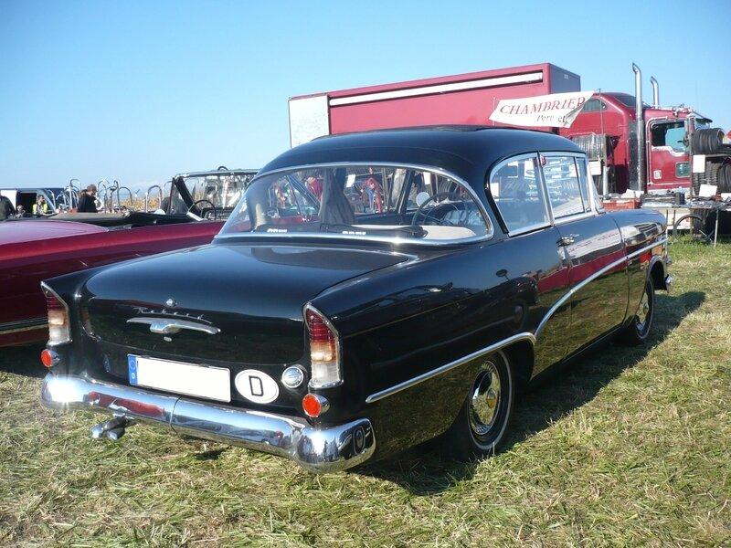 OPEL Rekord P1 berline 2 portes découvrable 1960 Lipsheim (2)