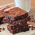 Brownies aux pepites de chocolat au lait