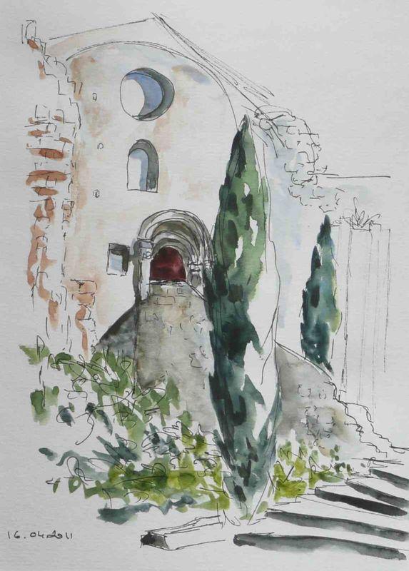 13-Arles Abbaye de Montmajour -4