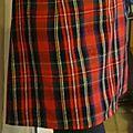Jupe trapèze tartan courtes et longues