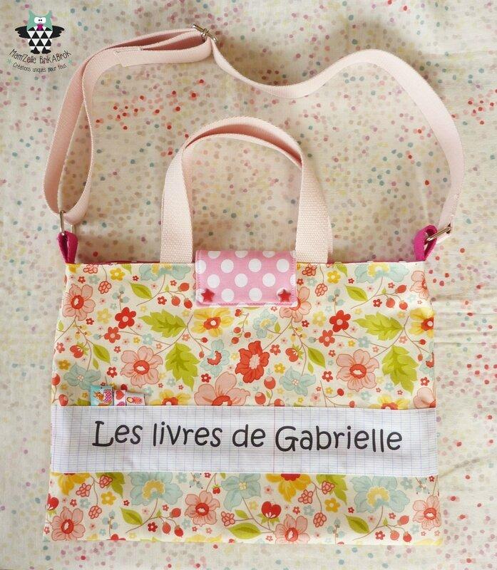 Sac biblio Gabrielle 031017 2