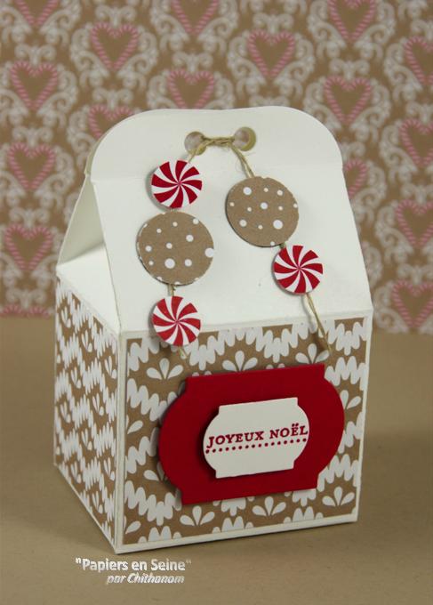 Boîte à pâtisserie Noël 2016 2
