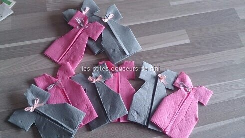 Serviette Petite Robe Les Ptites Douceurs De Nini