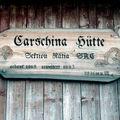 Carschina Hütte, Suisse