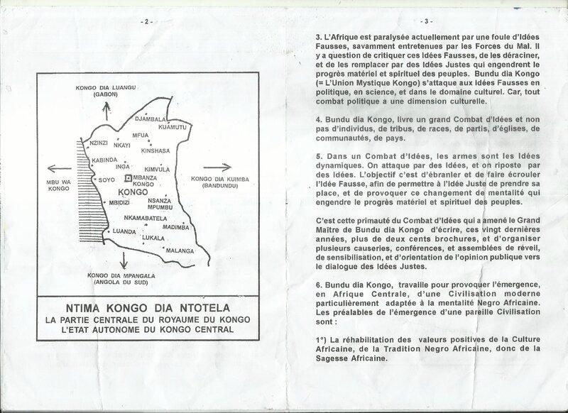 LE COMBAT DE BUNDU DIA KONGO b
