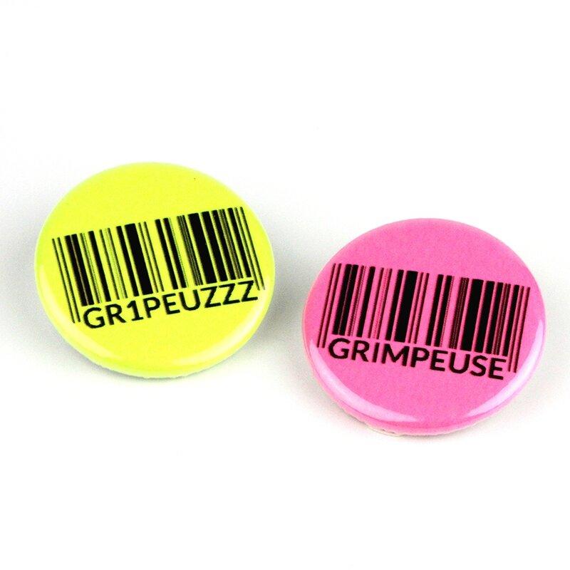 Badges Grimpeuse