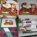 Tigger the tiger bag