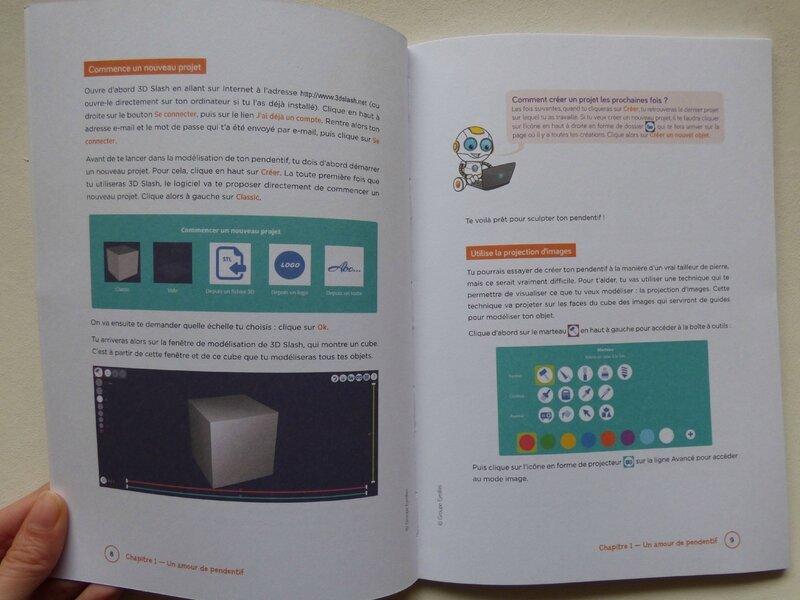 Cahier d'activités 3D pour les kids 1