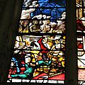 vitrail de saint Crépin et Saint Crépinien