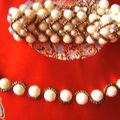 bracelet chevron à Mariperles ,lien dans mon blog