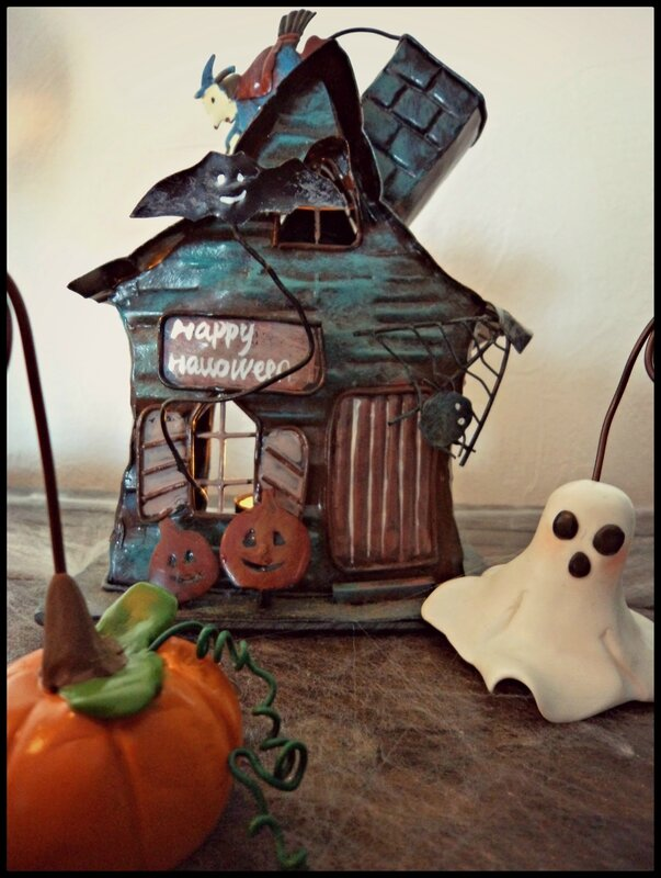 porte photo Halloween fimo 5