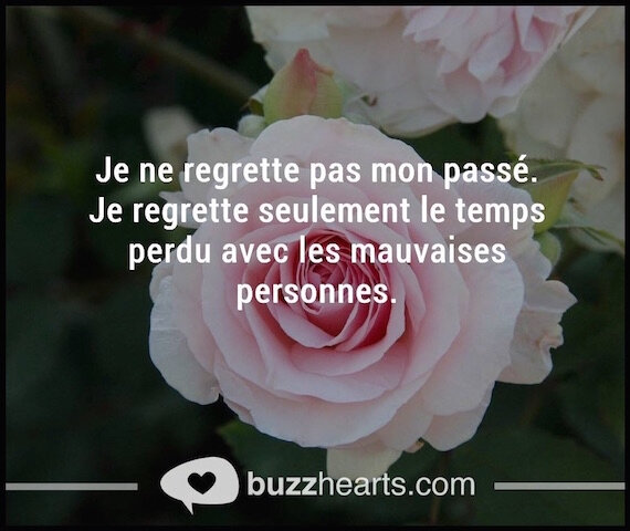 regrets temps perdu