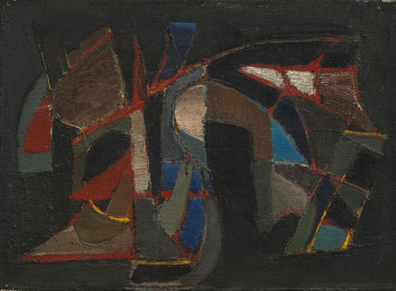 Nicolas de Staël, Composition, 1945