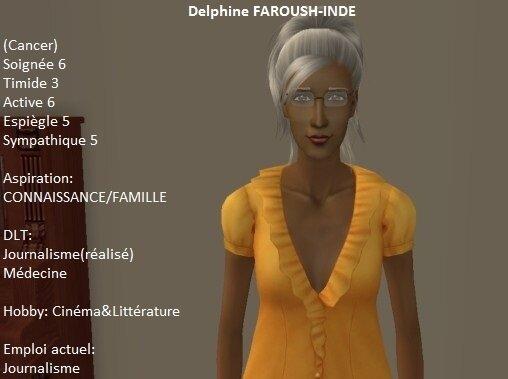 Delphine Faroush-Indé