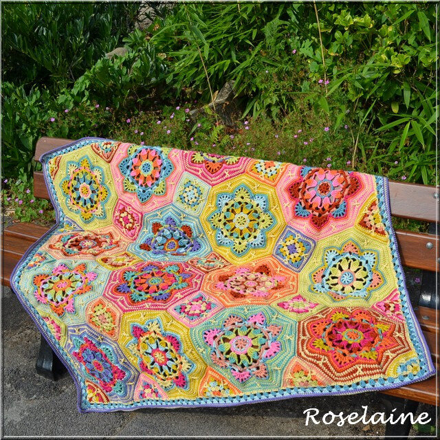 Roselaine Persian Tiles Eastern Jewels 1