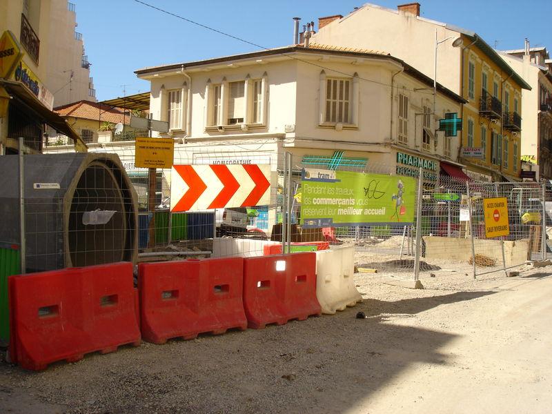 chantier u tramway de nice N° 6 047