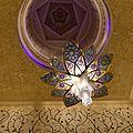 La Grande Mosquée Cheikh Zayed à Abu Dhabi.