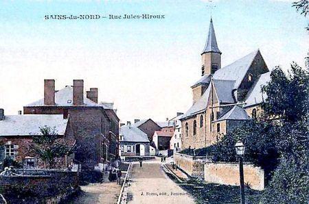 SAINS DU NORD-Rue Jules Hiroux4
