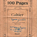 Les comptes de ma mère suzanne lesquoy : carnet n°21, du 27 novembre 1951 au 31 janvier 1952