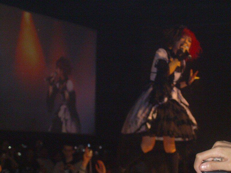 Nana Kitade, concert, japan expo 2007, 8ème impact