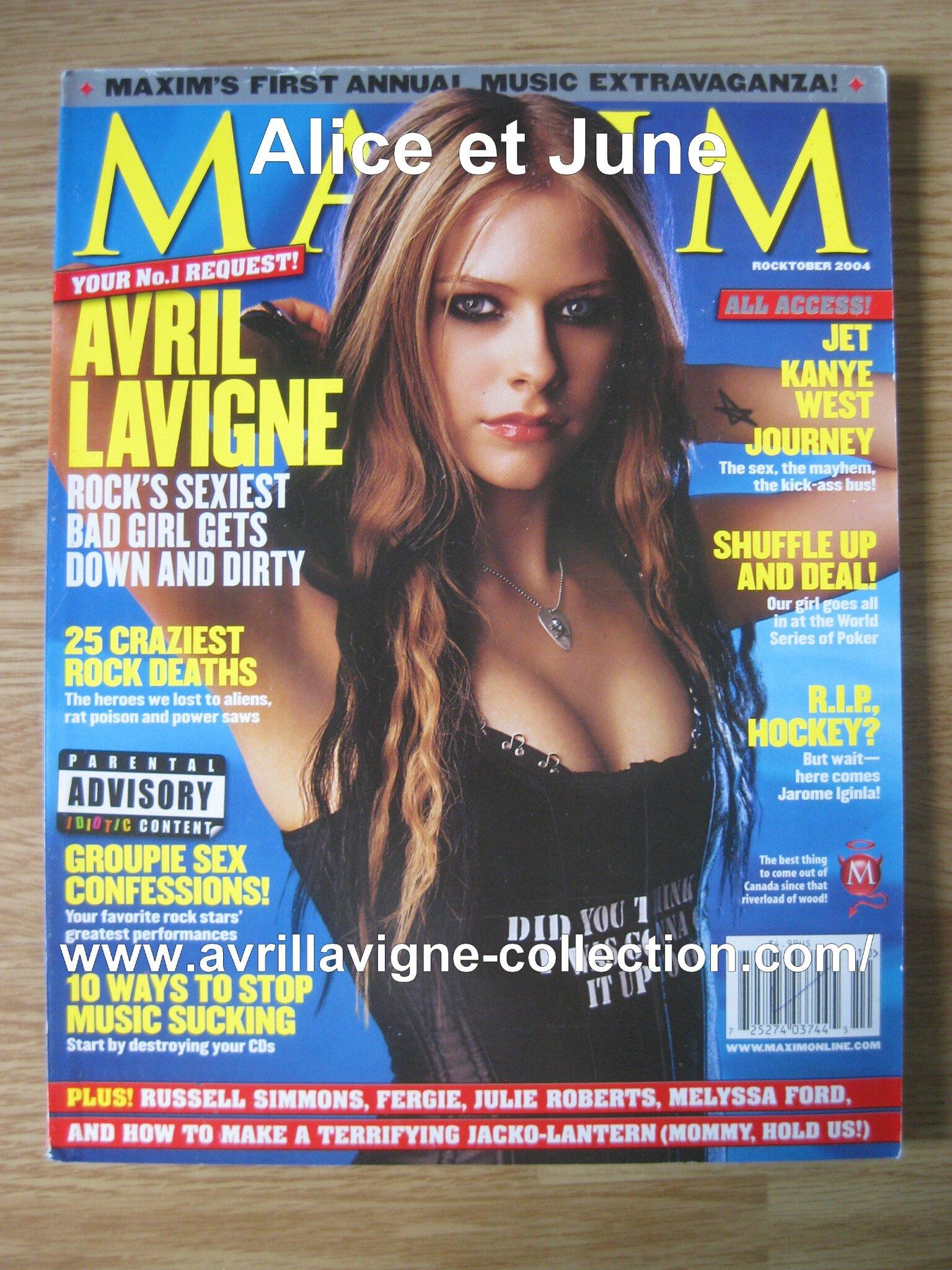Maxim magazine-édition américaine (octobre 2004)