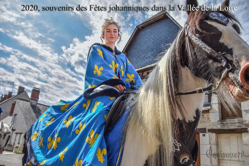 2020, souvenirs des Fêtes johanniques dans la Vallée de la Loire