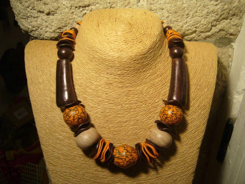 bijoux bois ethnique