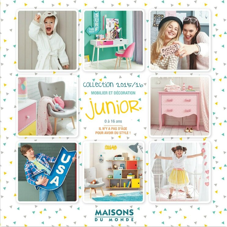 Maison du monde catalogue junior avie home for Nouveau catalogue maison du monde