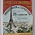 PLM - Exposition universelle de Paris en 1889
