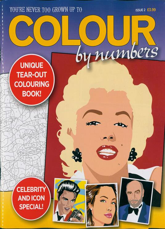 Colour by numbers (Gb) 2018