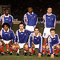 11 octobre 1995 ROUMANIE-FRANCE ... MATCH QUALIFICATIF POUR L'EURO 96