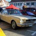 Ford mustang coupé de 1966 (3ème Rencontre de voitures anciennes à Benfeld 2010) 01
