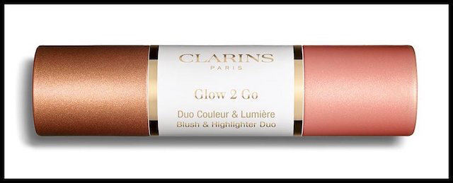 clarins glow to go golden peach 3