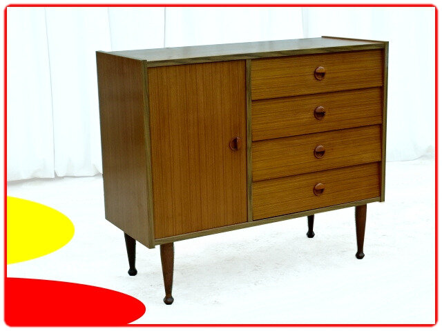 Commode buffet vintage 1970
