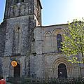 aux portes de la Charenteanalyses des désordres de construction,archéologie du bâti,construction églises romane