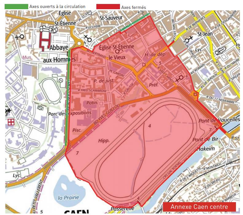 plan-de-circulation-autour-de-la-Préfecture-le-6-juin