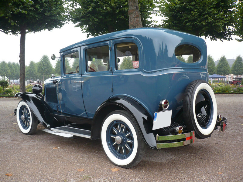 PONTIAC Big Six Fischer 4door Sedan 1929 Schwetzingen (2)