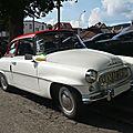 Skoda felicia super cabriolet avec hardtop 1964