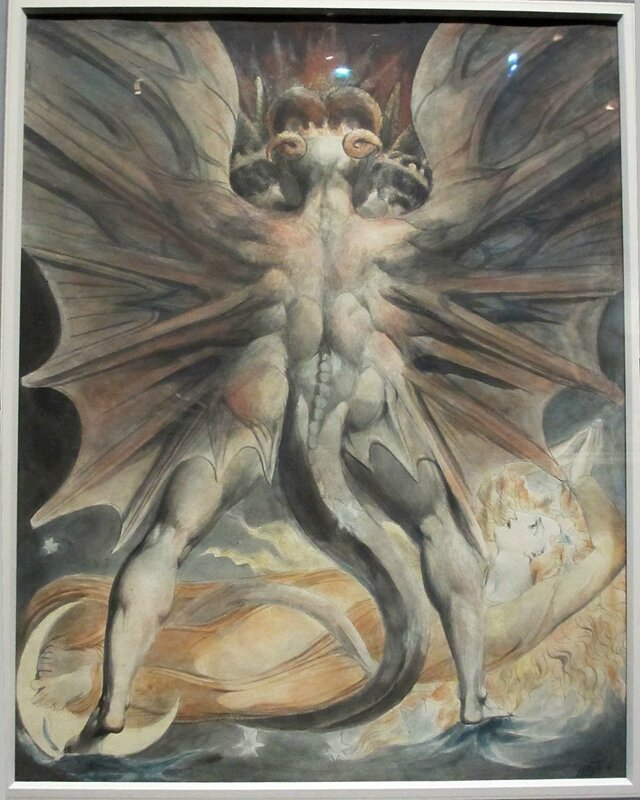 Blake (1805) -le-grand-dragon-rouge-et-la