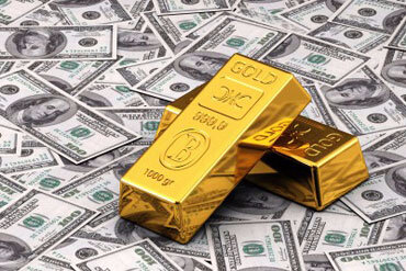 gold-and-dollars