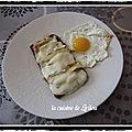 Tartines gourmandes fromages lardons