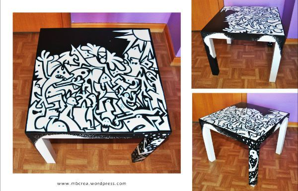 id e custo table basse au posca posca blog. Black Bedroom Furniture Sets. Home Design Ideas
