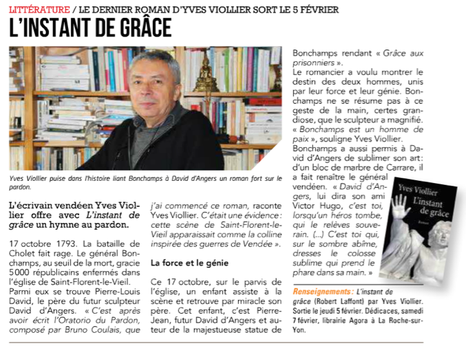 Le Journal de la Vendee - Yves Viollier