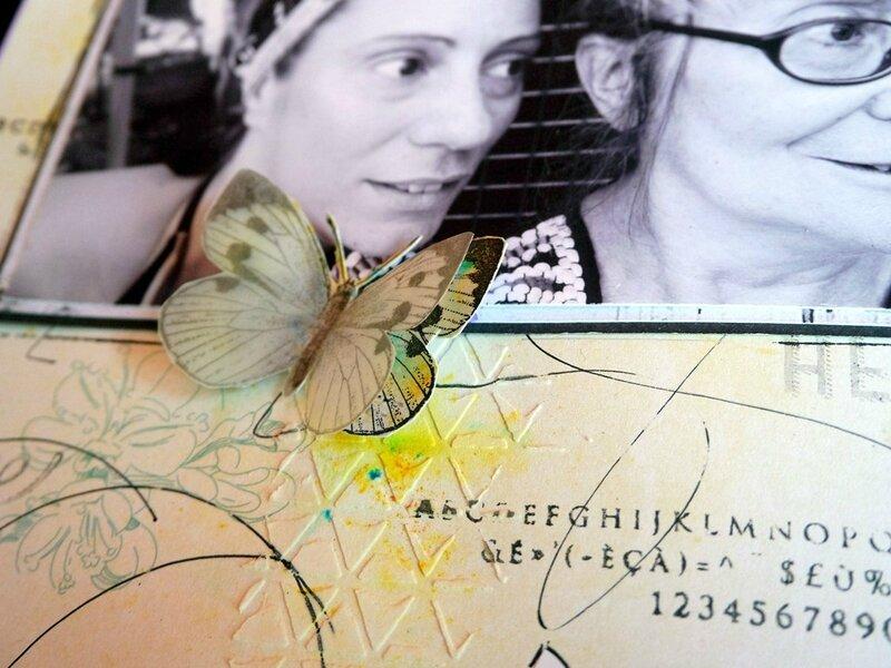 2 Le papillon en relief