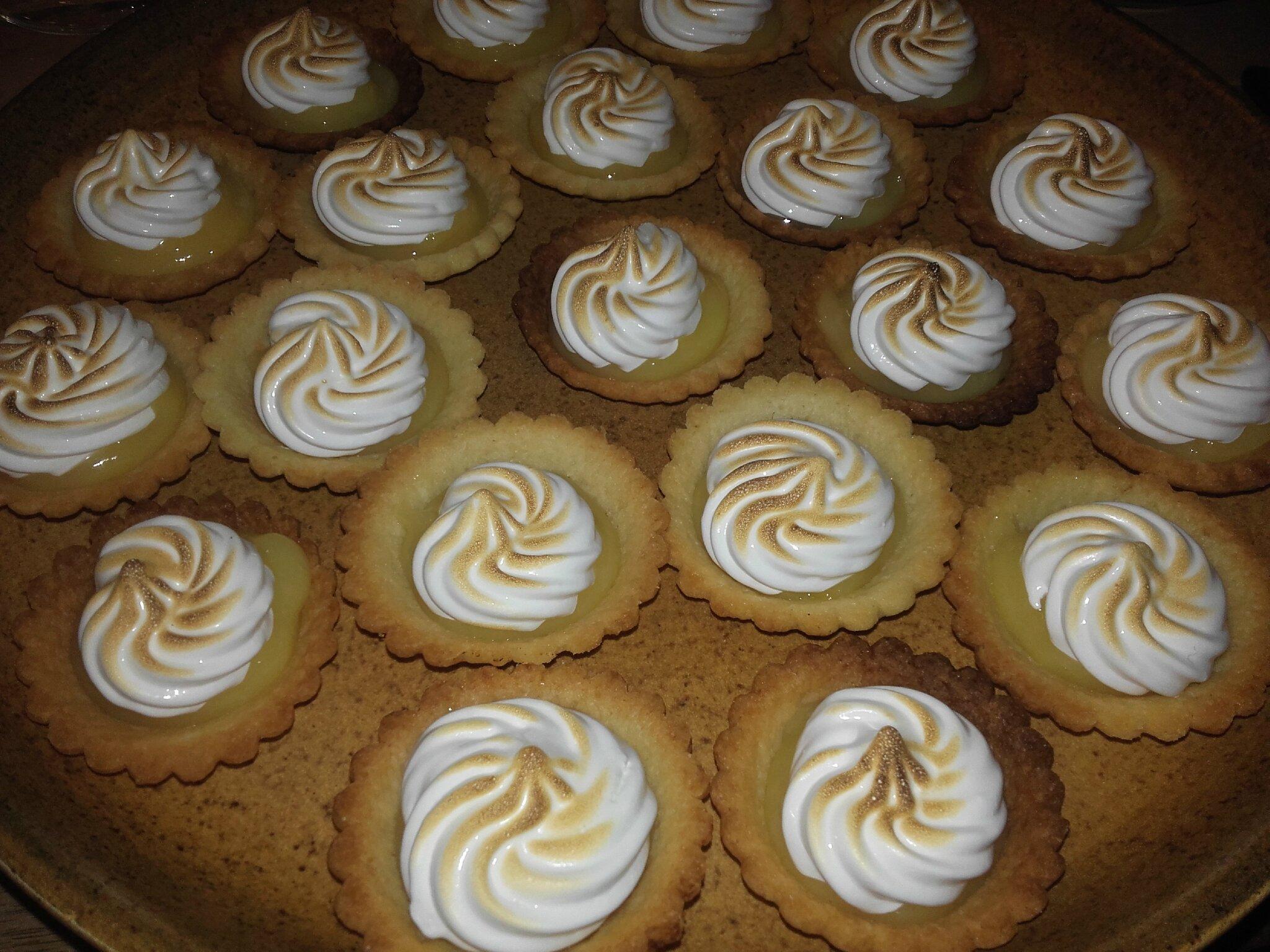 Mini-tartelettes citron meringuées :