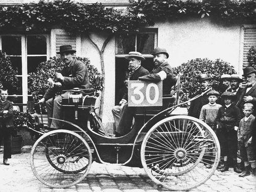 1894 paris-rouen - michaud (peugeot phaeton 3hp) 9th