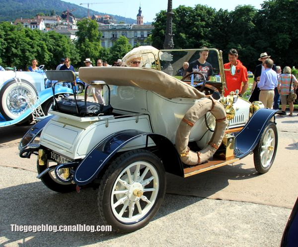 Delage type R de 1911 (37ème Internationales Oldtimer Meeting de Baden-Baden) 02