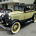 Ford model a ''leatherback'' fordor sedan by briggs 1928-1929