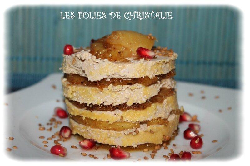 Millefeuille ananas foie gras 5